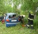 В ДТП в Тульской области пострадали три человека