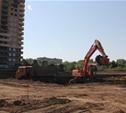 На Зеленстрое-2 начато строительство нового детского сада