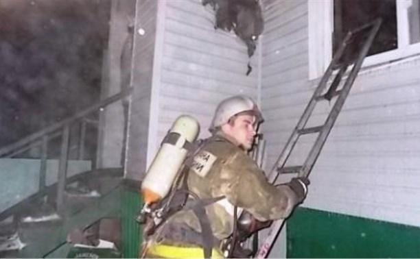Киреевские пожарные спасли двух женщин