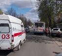 Пассажиры троллейбуса, совершившего наезд на авто и пешеходов, не пострадали