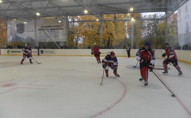 Как компания «Полипласт Новомосковск» реализует программу развития хоккея