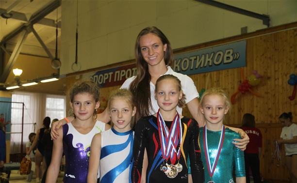 Тульские гимнастки отличились в Рязани