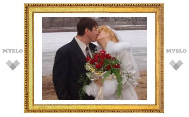 На День влюбленных в Туле ожидается свадебный бум