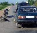 В Ясногорске ИЖ-Ода въехал в скутериста