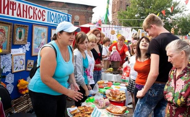В поселке Епифань Тульской области открылась традиционная медовая ярмарка