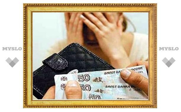 Под Тулой алиментщик задолжал своему ребенку 90 тысяч рублей