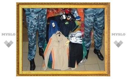 В Туле изъяли партию контрафактной одежды