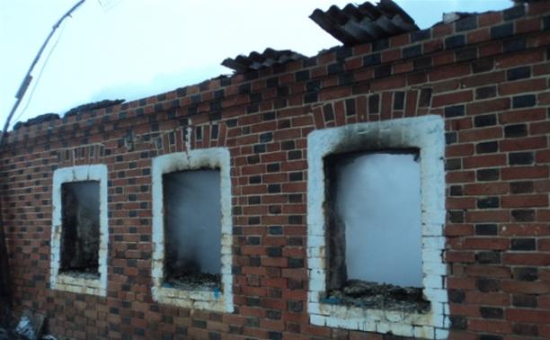 В Киреевском районе при пожаре погиб человек