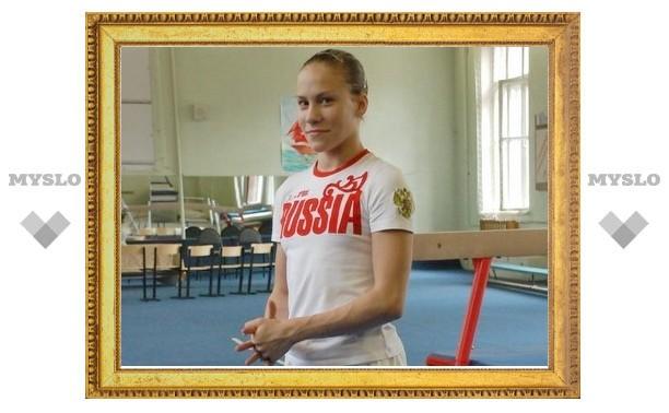 Гимнастка из Тулы Ксения Афанасьева стала чемпионкой России
