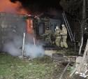 В Щёкинском районе сгорел дом