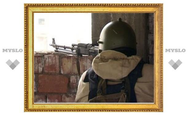 В Махачкале спецназ уничтожил дом с боевиками