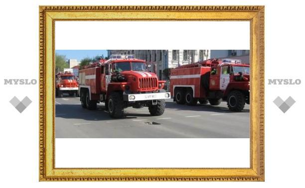 Пожарные Тулы вывели из огня 27 человек