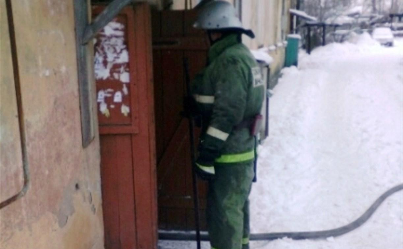 В Белёве пожарные спасли трех человек