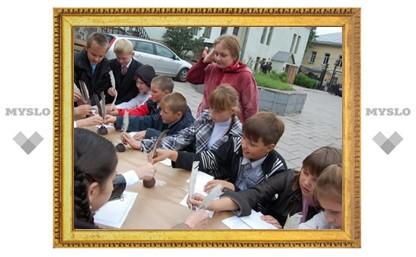 Школьники Тулы побывали в Средневековье
