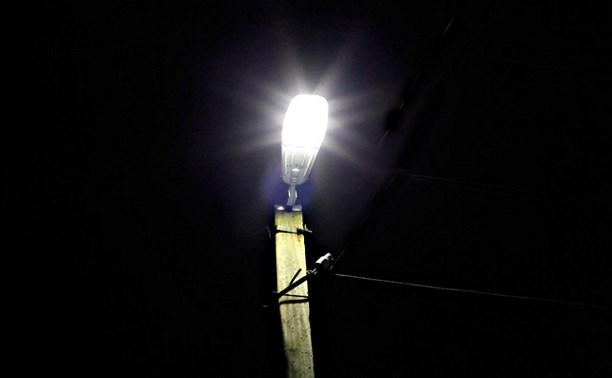 К июню на Алексинском шоссе в Туле сделают освещение