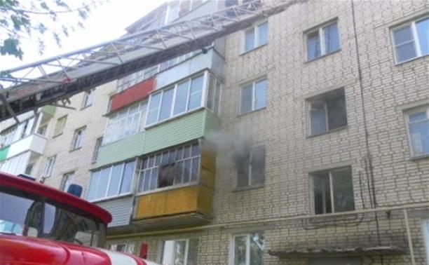 В Ефремове пожарные спасли пять человек