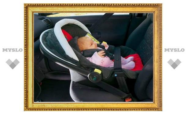 Тульские гаишники будут дарить автокресла молодым мамам