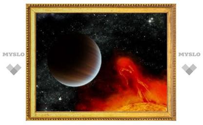 Обнаружена самая молодая экзопланета