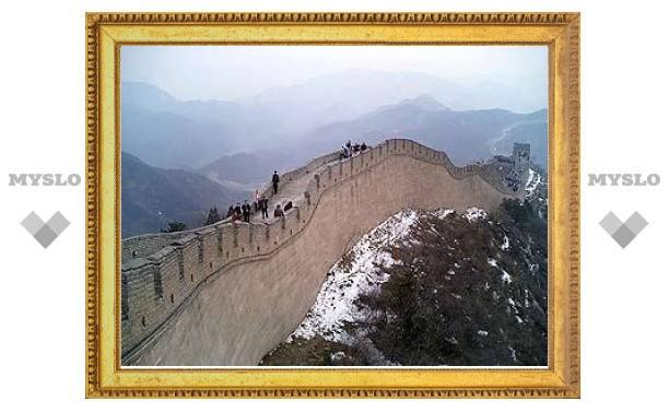 Китай возьмет под защиту древнейший участок Великой стены