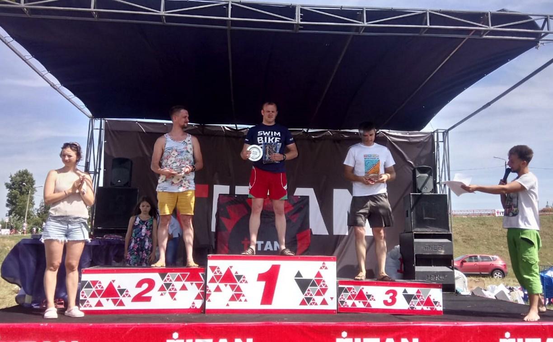 В Кубке #TitanSwim тульские росгвардейцы заняли призовые места