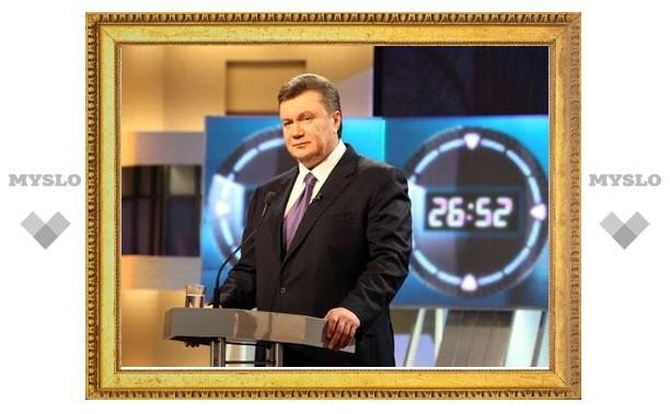 Янукович сохранил лидерство после подсчета 90 процентов бюллетеней