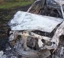 В Тульской области после ДТП сгорела Daewoo Nexia
