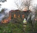 В Алексинском районе сгорел частный дом