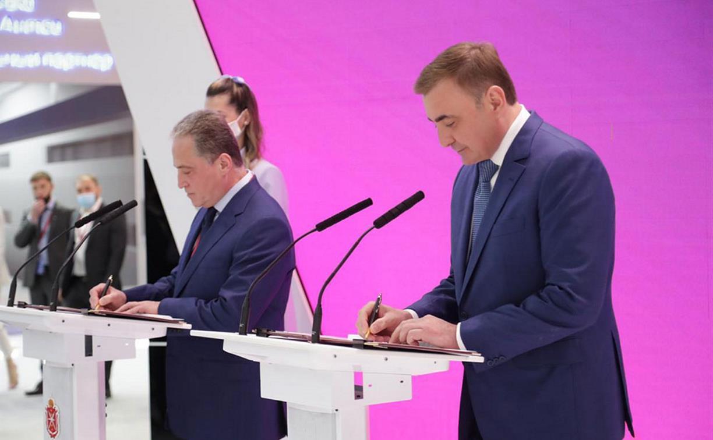 На ПМЭФ-2021 назвали пять новых производств, которые построят в Тульской области
