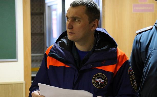 Алексей Павлов официально возглавил тульское Управление МЧС России