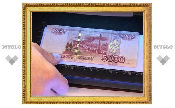 Тульская полиция намерена найти фальшивомонетчика всего по одной поддельной купюре