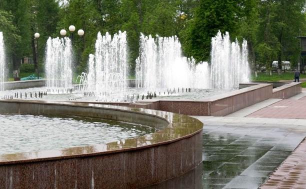 В Туле идут работы по благоустройству фонтанов