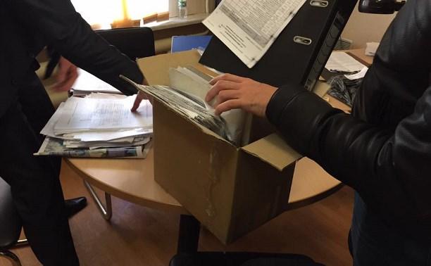 В администрации Одоевского района Тульской области прошли обыски