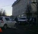 16 апреля в центре Тулы столкнулись три иномарки