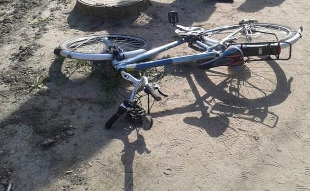 В Новомосковске пенсионер-велосипедист попал под колёса иномарки