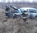 В Тульской области в серьезном ДТП пострадали пять человек