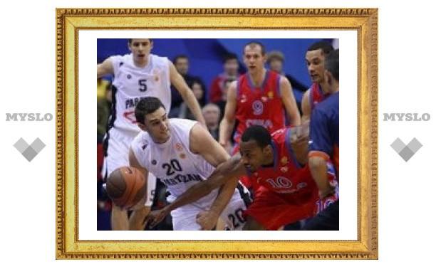 Баскетбольный ЦСКА установил антирекорд в матче Евролиги