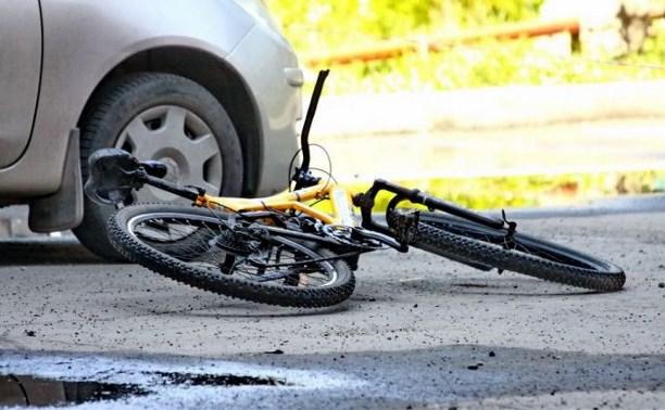 На дороге «Калуга – Тула – Рязань» водитель сбил 12-летнего велосипедиста