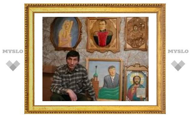 Под Тулой открылась выставка резных картин