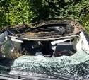Два человека пострадали в ДТП с перевернувшимся Land Cruiser