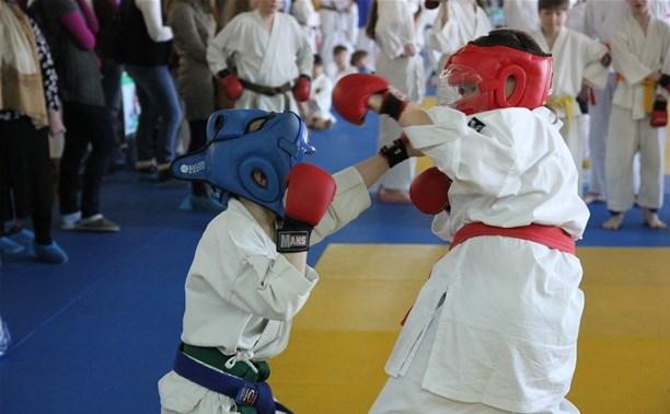 Тульские каратисты завоевали 9 медалей на Кубке Московской области