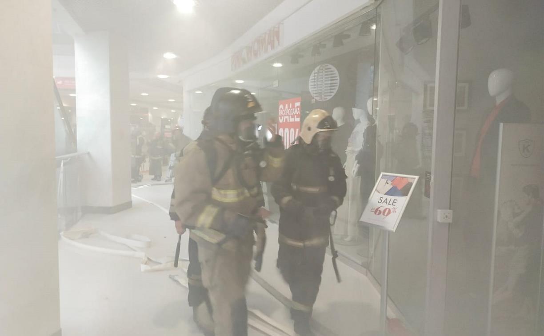 Пожар в «Гостинке»: что происходит на месте ЧП