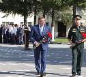 В Туле Виктор Золотов и Алексей Дюмин открыли мемориал в Управлении Росгвардии