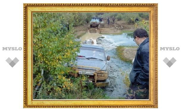 Тульские автолюбители-экстремалы победили бездорожье