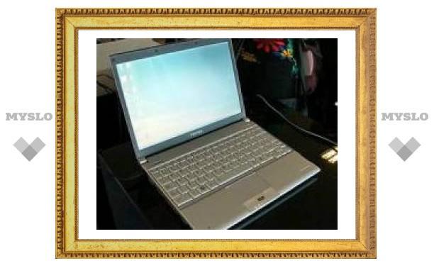 Toshiba представила 800-граммовый ноутбук