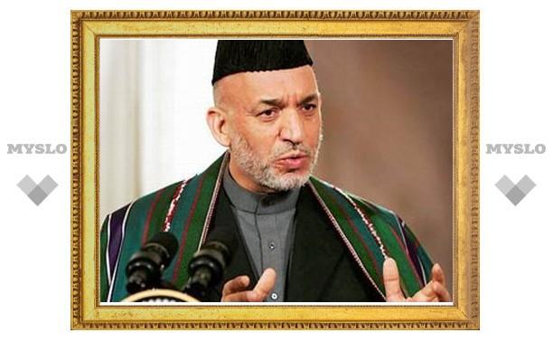 Штаб Хамида Карзая объявил о победе на президентских выборах