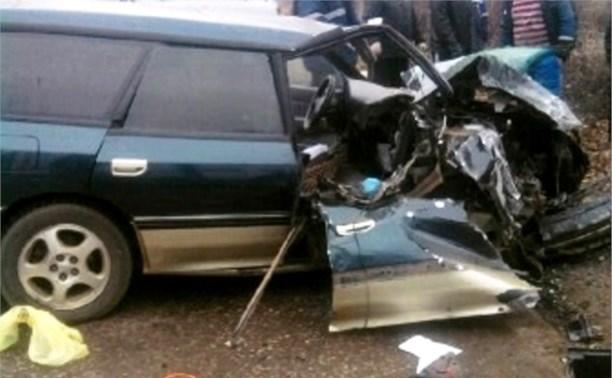 В ДТП в Щекинском районе пострадали три человека