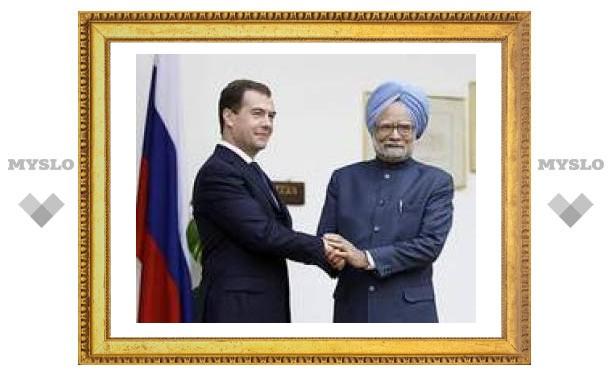 Россия и Индия подписали ряд договоров