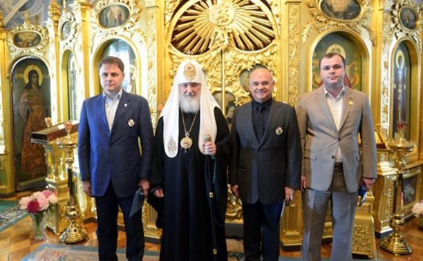 Владимир Груздев получил высокую награду от Русской Православной Церкви