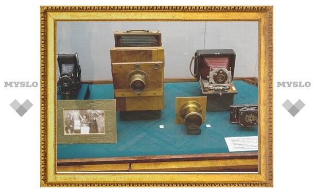 Тулякам покажут старинные фотоаппараты