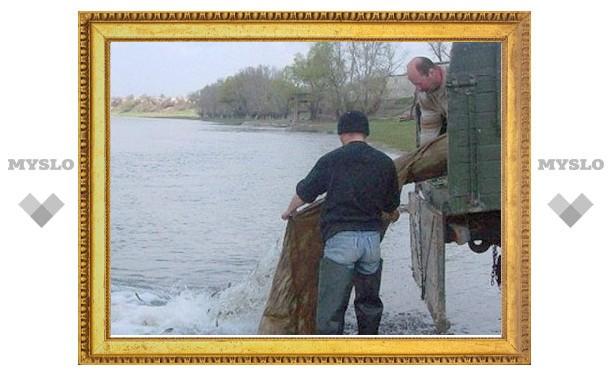 «Еврохим» выпустил в водоемы Новомосковска 1,5 тонны мальков